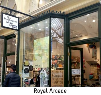 the melbourne shop fitzroy and royal arcade